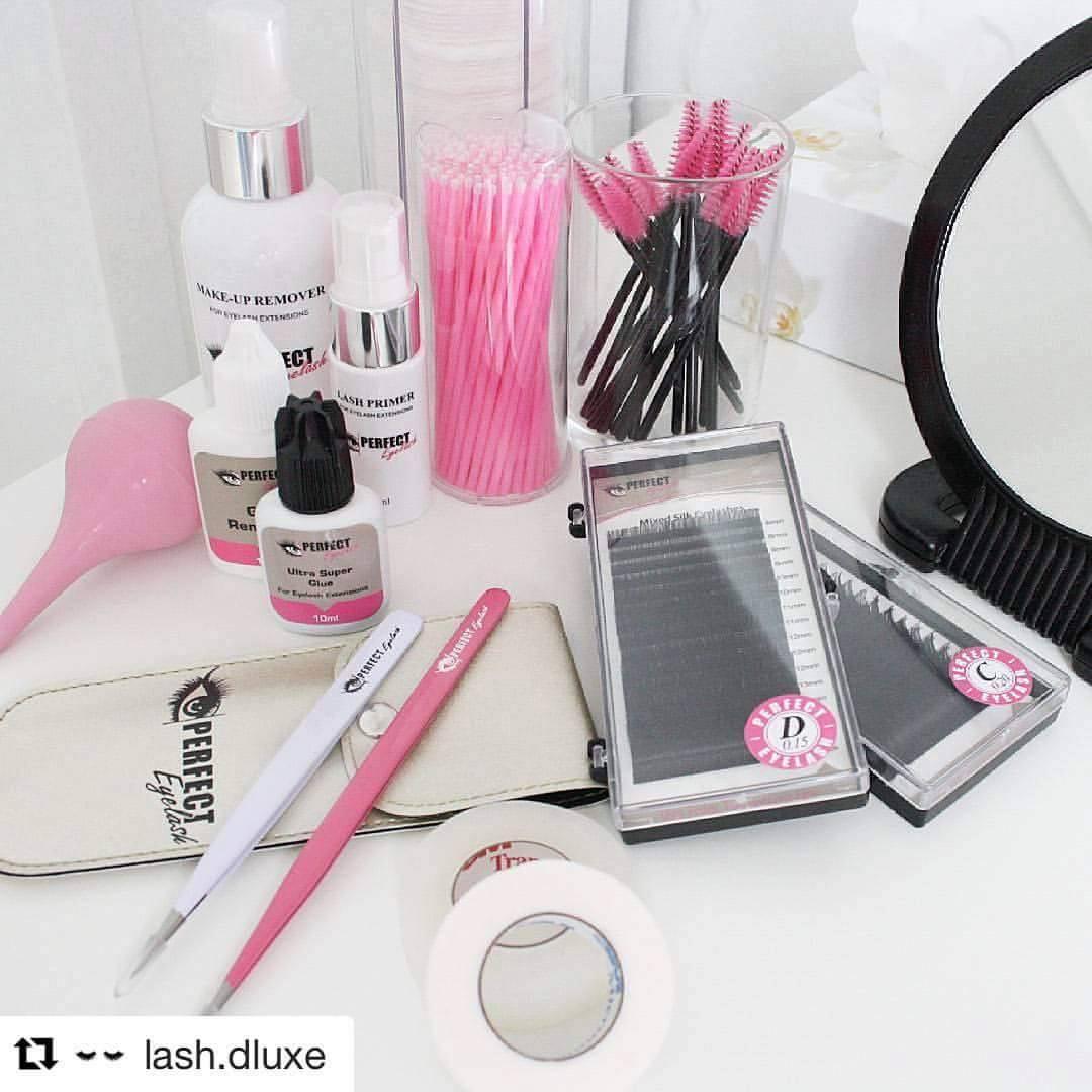 Beauty Royale werkt uitsluitend met de producten van Perfect eyelash.