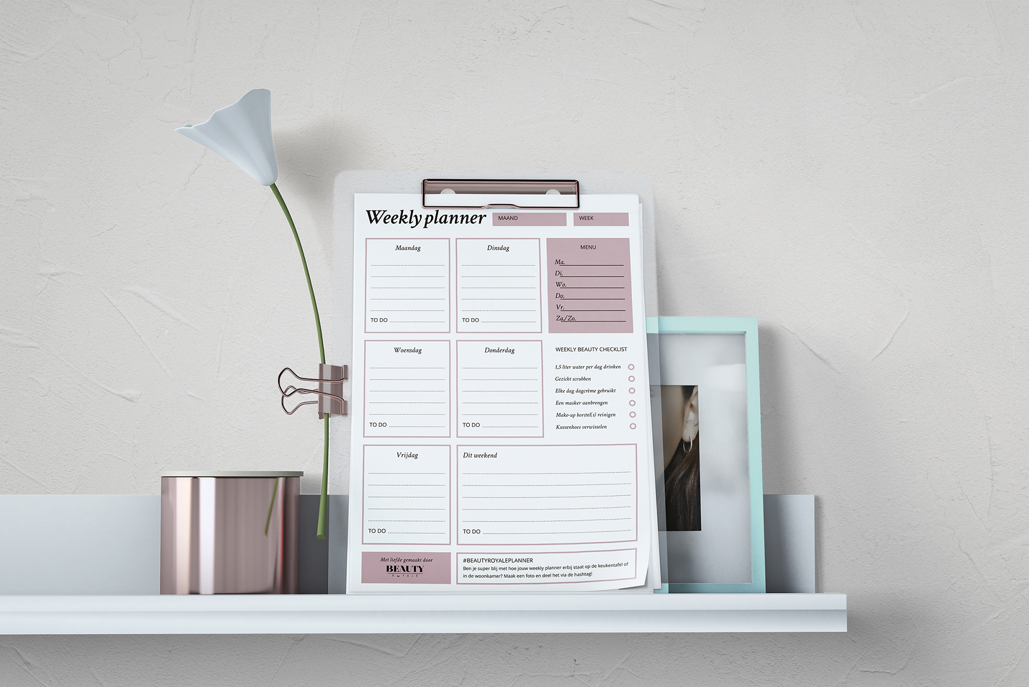 Beauty-Royale-weekly-planner